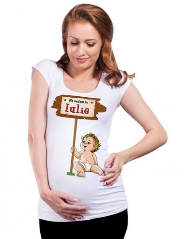 Bluza vara gravide - Iulie