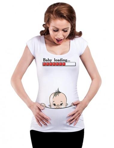 Bluza vara gravide - Baby Loading