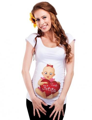 Bluza vara gravide - Sunt Fetita