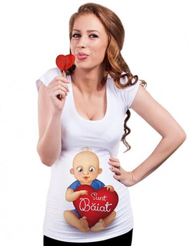 Bluza vara gravide - Sunt Baiat