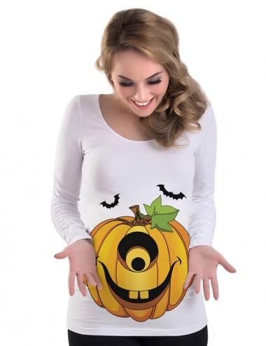 Bluza gravide - Dovleac Halloween