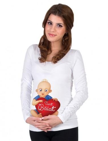 Bluza gravide - Sunt Baiat