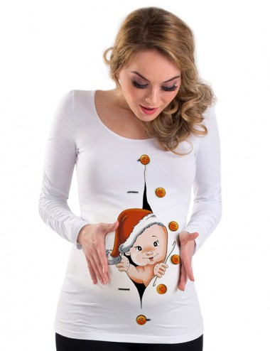 Bluza gravide - Hello Bebe Craciun