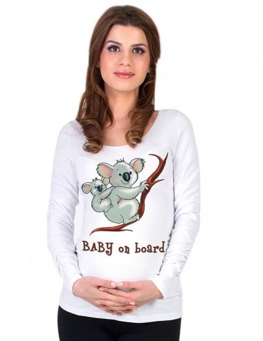 Bluza gravide - Ursuleti Koala