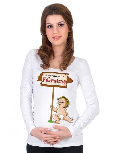 Bluza gravide - Bebe Februarie
