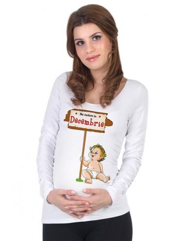 Bluza gravide - Bebe Decembrie