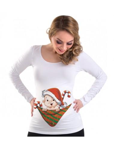 Bluza gravide - Bebe Mos Craciun