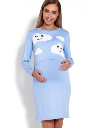 Camasa gravide/ alaptare - Blue