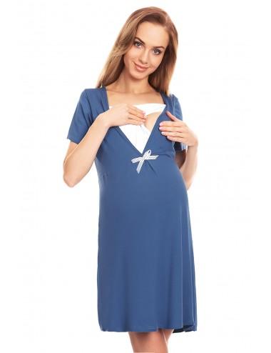 Camasa gravide/ alaptare Blue