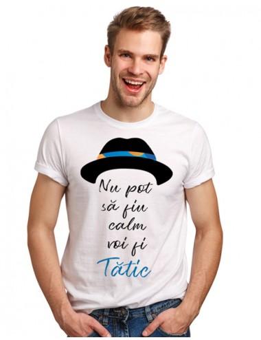Tricou barbat - Nu pot sa fiu calm